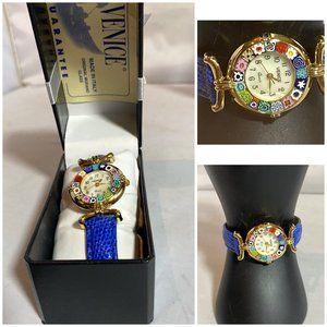 Watches of Venice Murano Millefiori Women's Watch